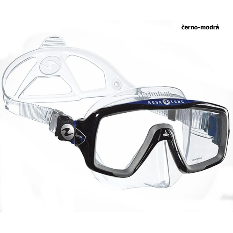 Potápěčská maska - Maska TECHNISUB Ventura+ - černo-modrá
