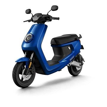 Modrá elektrická motorka M+ Sport, NIU