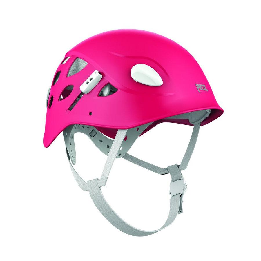 Růžová dámská horolezecká helma Petzl - velikost 50-58 cm