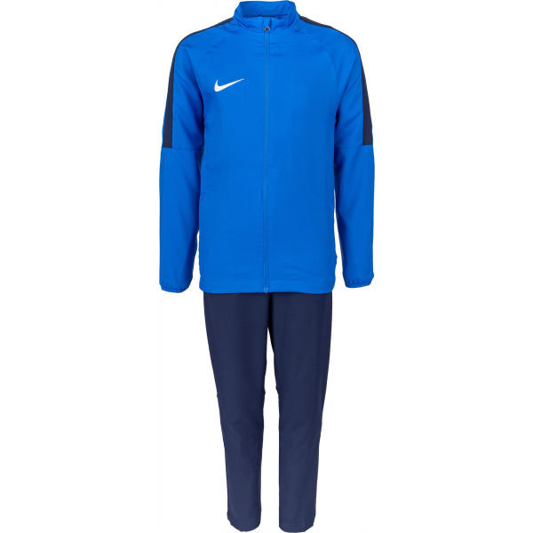 Modrý chlapecký fotbalový komplet Nike - velikost M