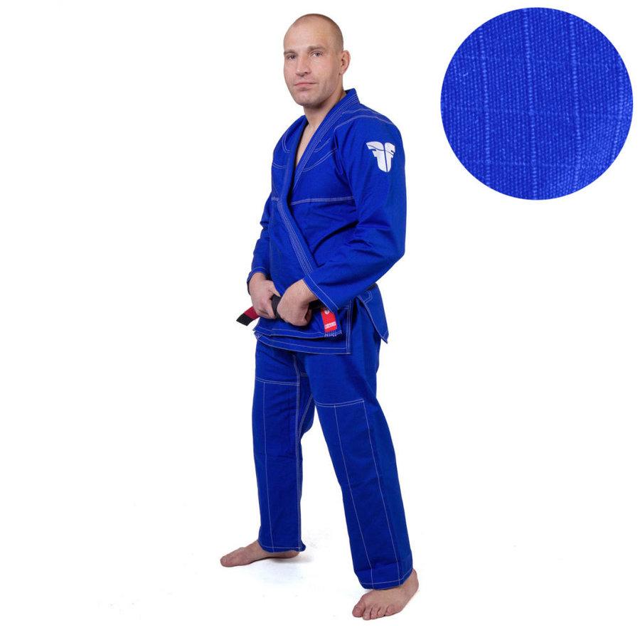 Modré kimono na jiu-jitsu Fighter
