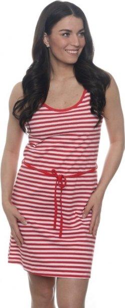 Červené dámské šaty Sam 73