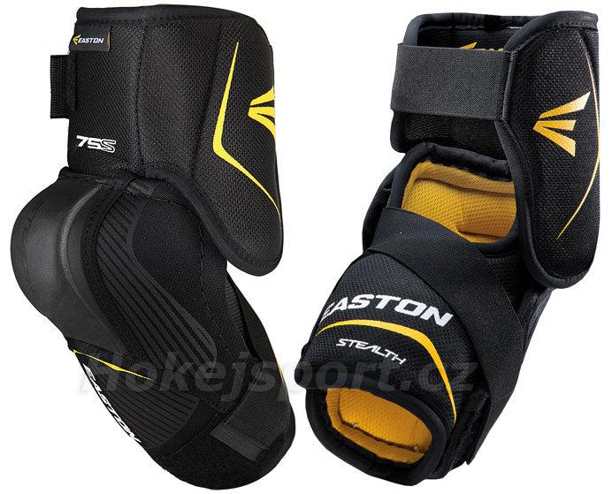 Černý hokejový chránič loktů - senior Easton - velikost M