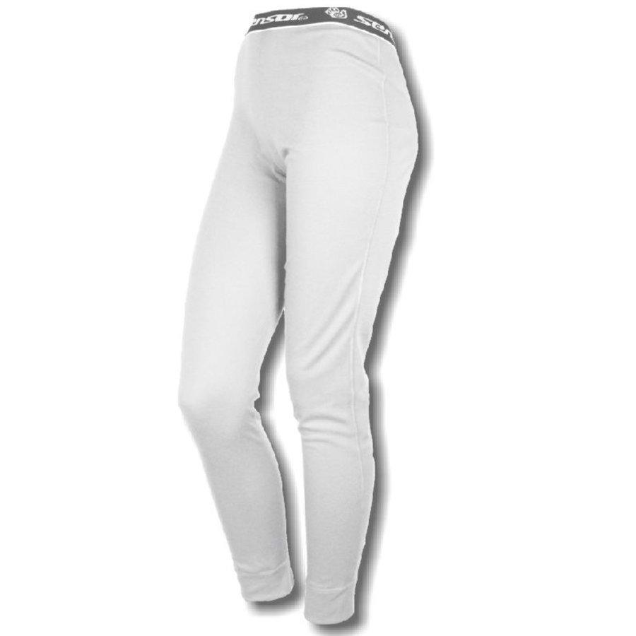 Bílé dámské termo kalhoty Sensor