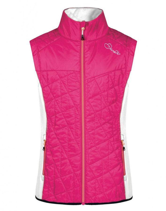 Růžová dámská vesta Dare 2b