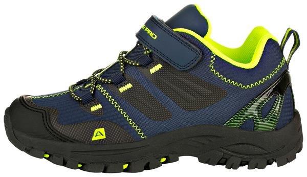 Modré dětské trekové boty Alpine Pro - velikost 33 EU