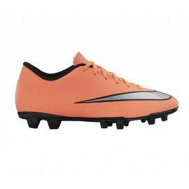 Oranžové kopačky lisovky MERCURIAL VORTEX II FG, Nike