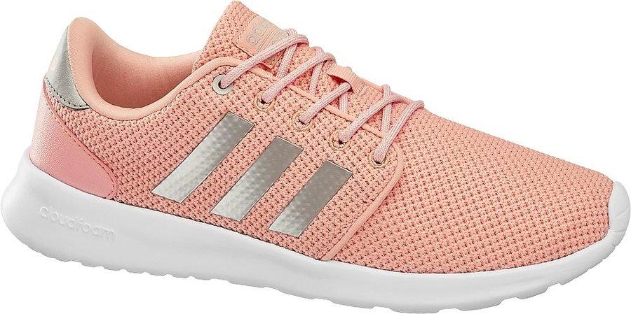 Růžové dámské tenisky Adidas - velikost 39 1/3 EU