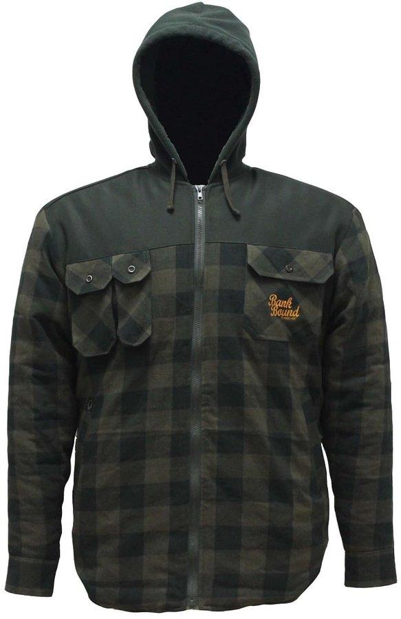 Černo-zelená rybářská bunda ProLogic - velikost M