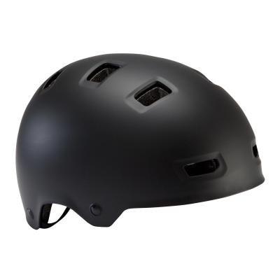 Černá dětská cyklistická helma B'TWIN - velikost S