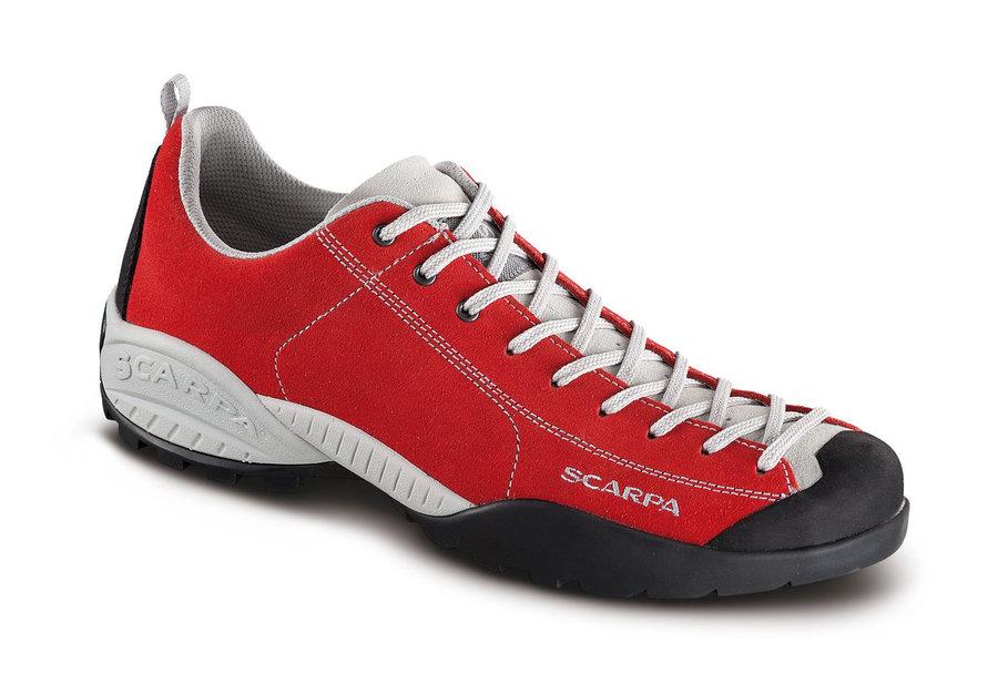 Červené pánské trekové boty Scarpa