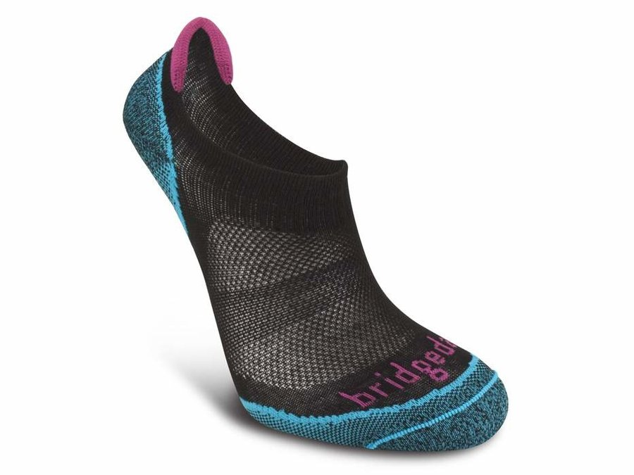 Černo-modré dámské trekové ponožky Bridgedale