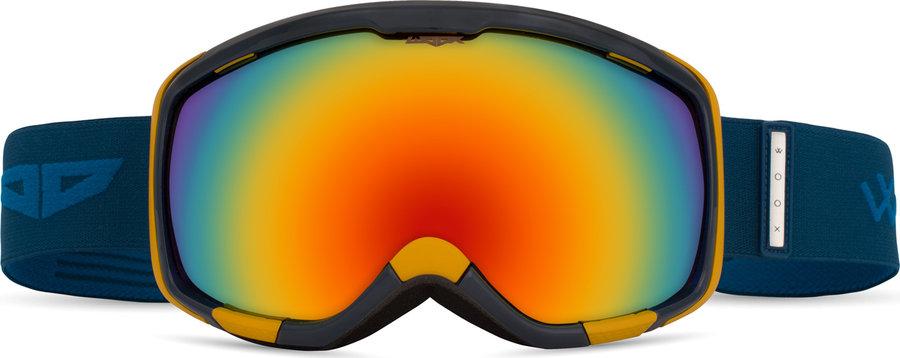 Modré lyžařské brýle Woox