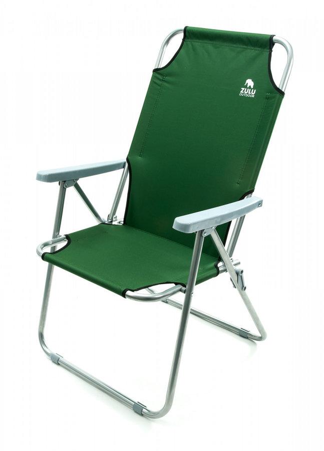 Kempingová židle Zulu - nosnost 100 kg