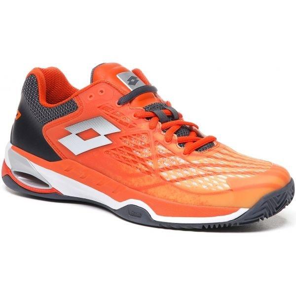 Oranžová pánská tenisová obuv Lotto