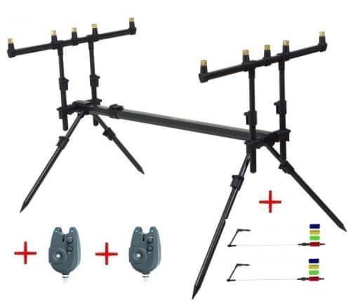 Stojan na pruty - JAF Capture Rodpod Capture Legendary Pod + ZDARMA 2ks signalizátorů Passion RZ + vahadla