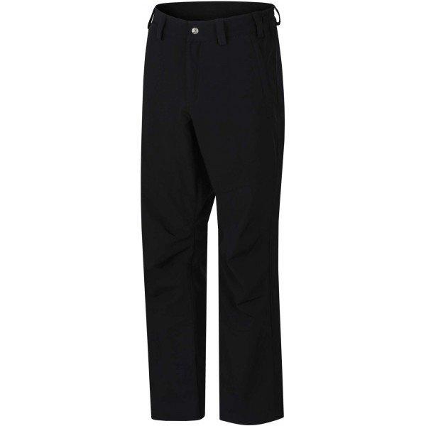 Černé softshellové pánské kalhoty Hannah - velikost XL