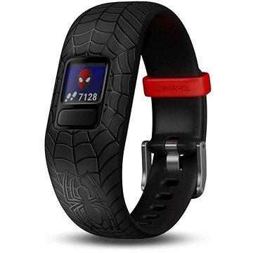 "Černý fitness náramek VivoFit Junior 2, ""Spider-Man"", Garmin"