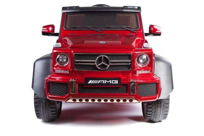 Červené dětské elektrické autíčko Mercedes-Benz G63, Beneo