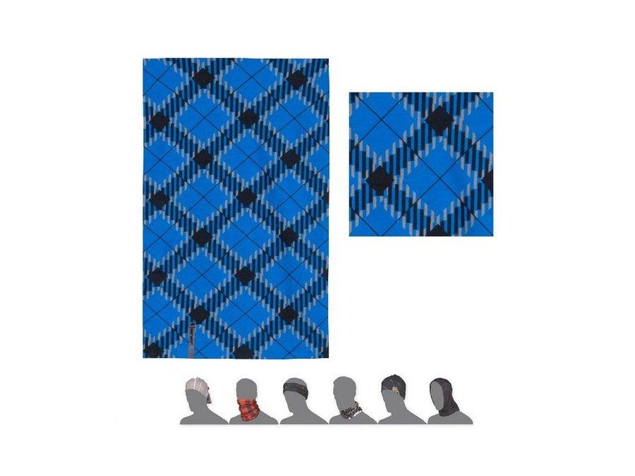 Modrý multifunkční šátek Sensor