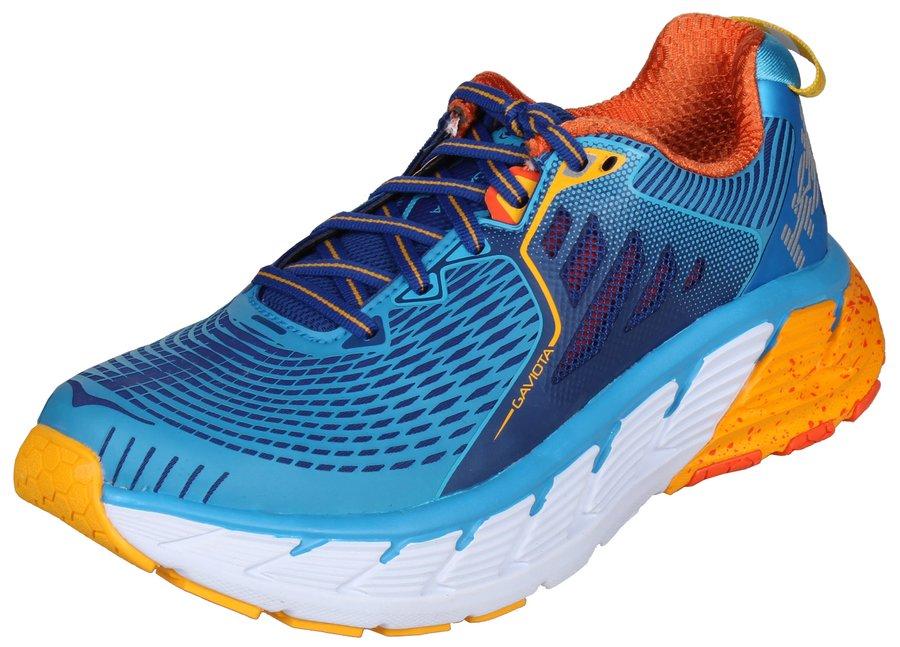 Modré dámské běžecké boty - obuv Gaviota, Hoka One One - velikost 36,5 EU