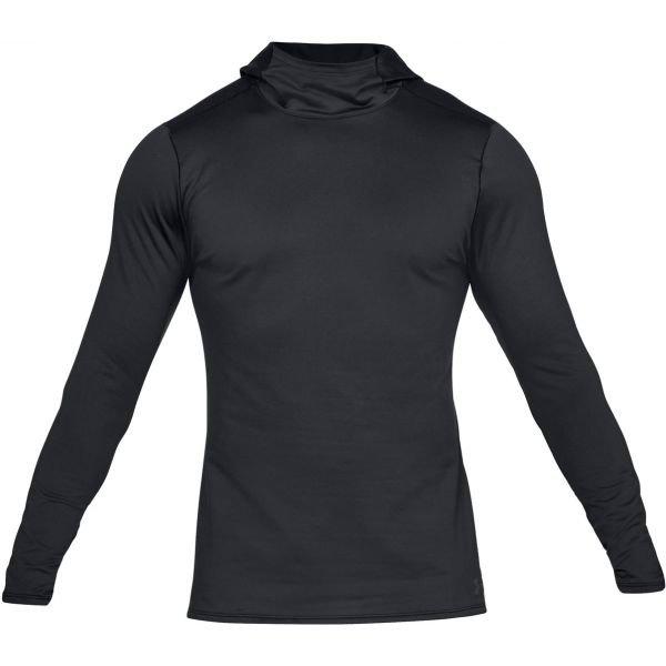 Černé pánské tričko s dlouhým rukávem Under Armour