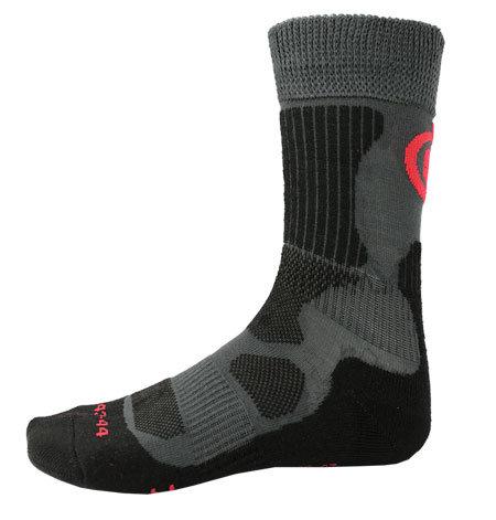 Šedé hokejové ponožky