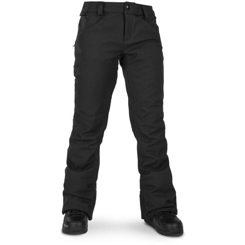 Černé dámské snowboardové kalhoty Volcom