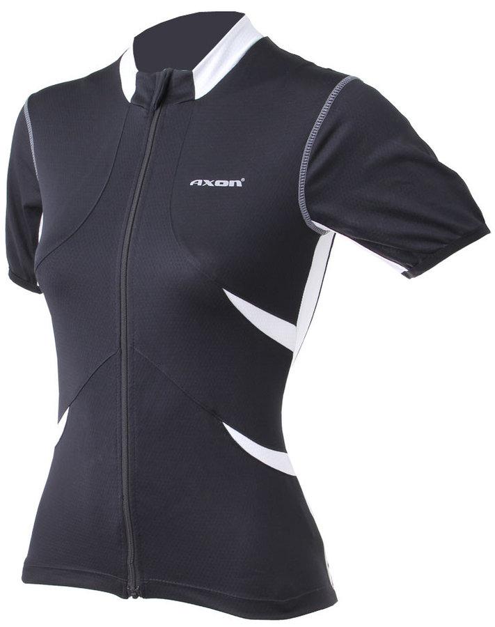 Černý dámský cyklistický dres Axon