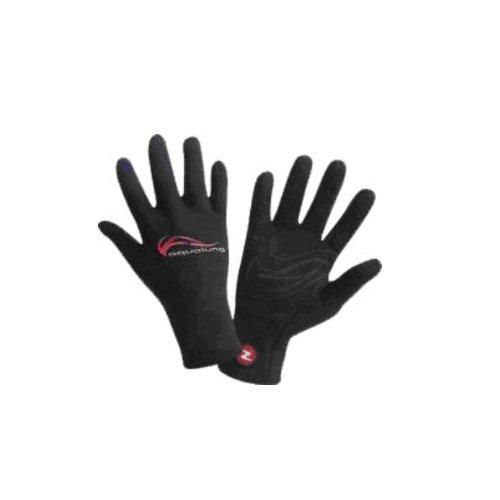 Černé neoprenové rukavice Superstretch Kai, Aqualung