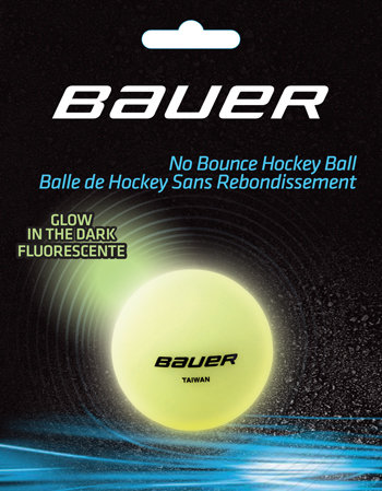 Hokejbalový míček - Hokejbalový míček Bauer Glow in the dark