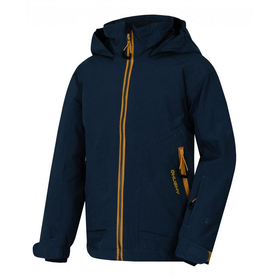Modrá dětská bunda Husky - velikost 122
