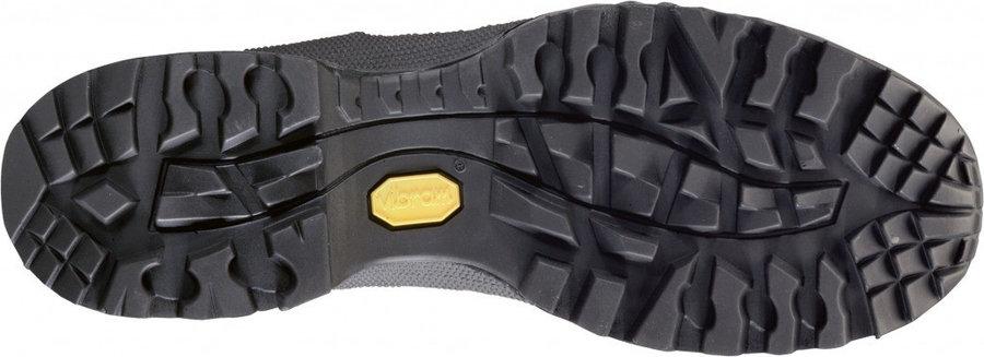 Červeno-šedé dámské trekové boty - obuv Hanwag