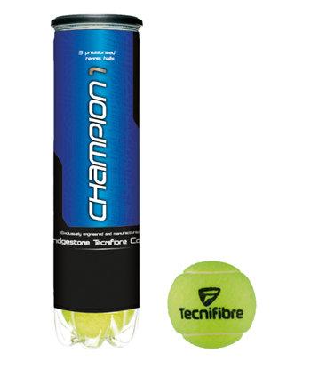 Tenisový míček Champion One, Tecnifibre - 4 ks