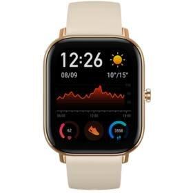 Zlaté chytré hodinky Amazfit GTS, Xiaomi