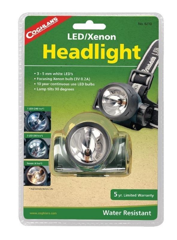 Čelovka - Coghlans čelová svítilna LED/Xenon Headlight