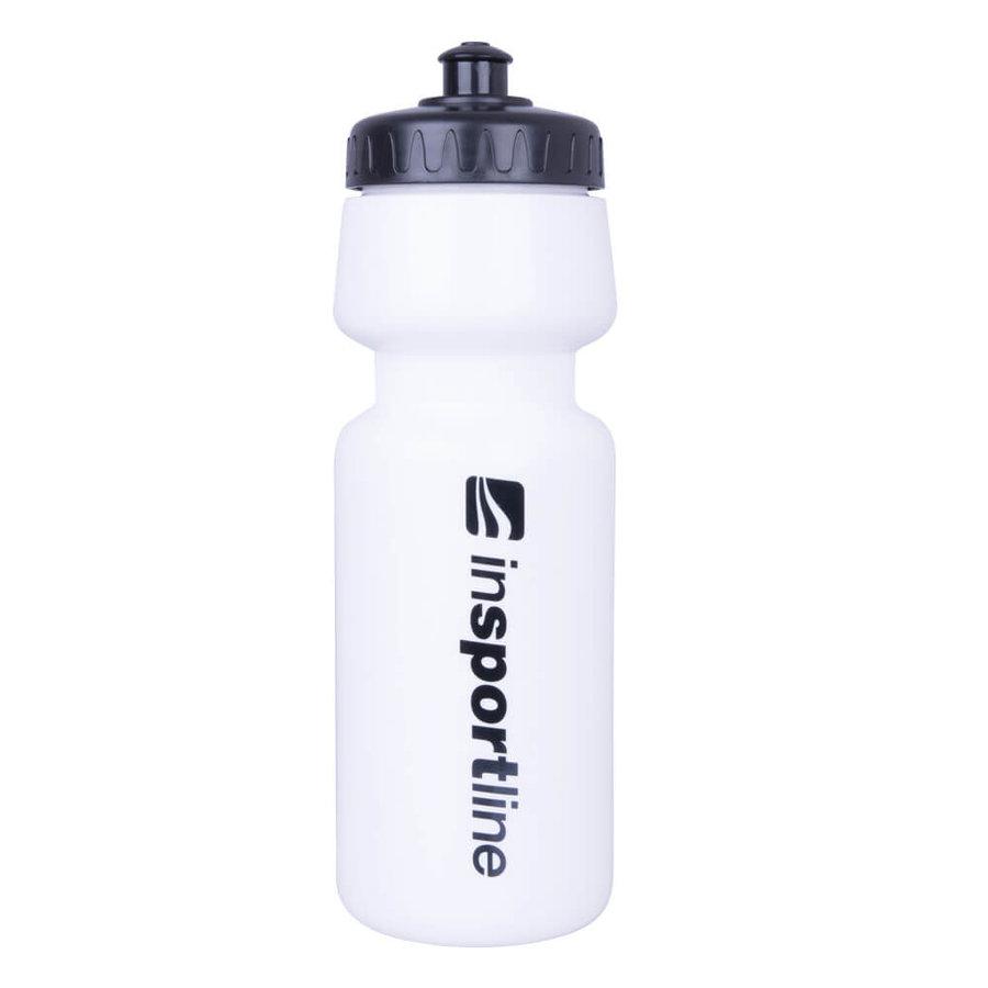 Bílá láhev na pití Insportline - objem 0,7 l