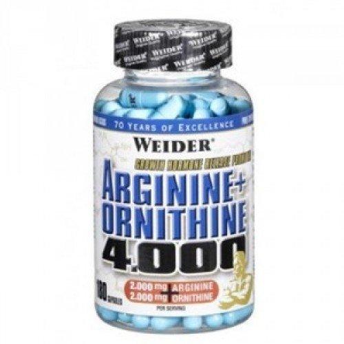 L-Arginin Weider - 180 ks