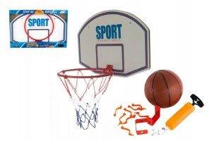 Basketbalová sada - Basketbalový koš + míč s pumpičkou