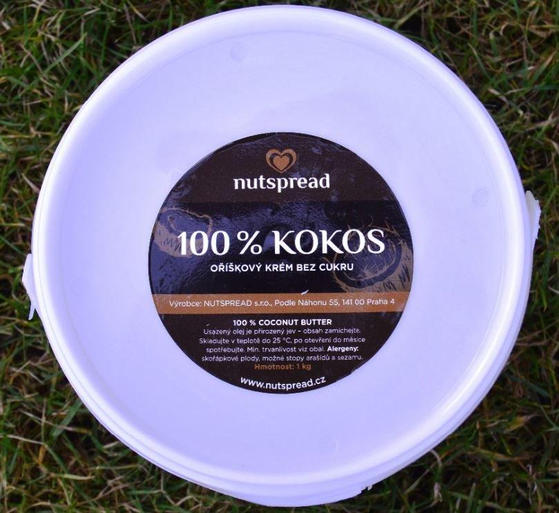 Máslo - 100% kokosové máslo Nutspread 1000g