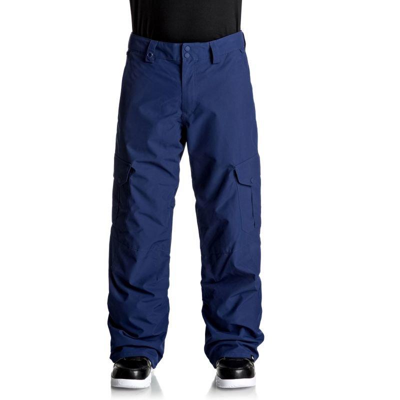 Modré pánské snowboardové kalhoty Quiksilver - velikost XL