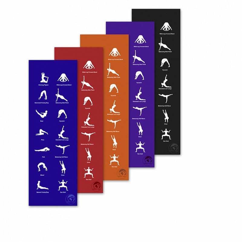 Podložka na jógu - délka 180 cm a tloušťka 5 mm