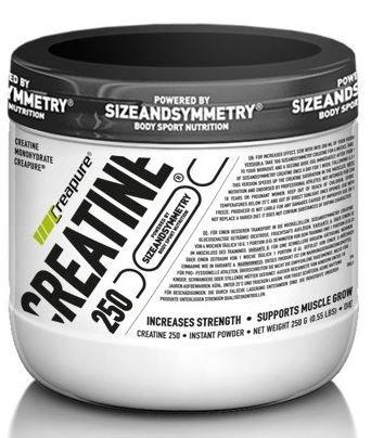Kreatin - Sizeandsymmetry Creatine Creapure 250 g