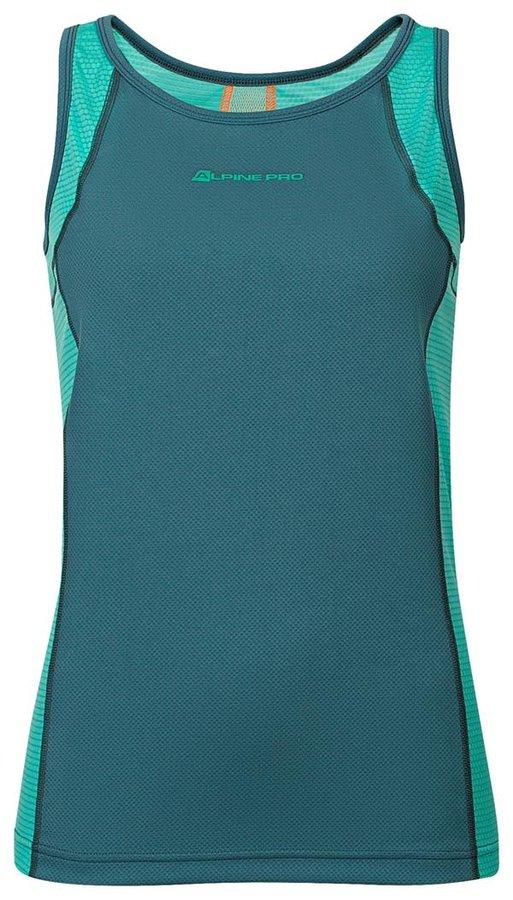 Modré dámské tílko Alpine Pro - velikost XS