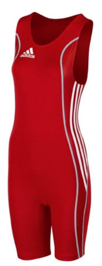 Černý dámský zápasnický dres W8 WRESTLER, Adidas - velikost M