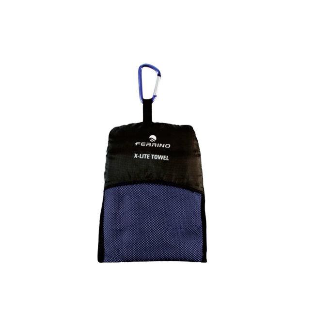 Modrý ručník Ferrino - velikost L