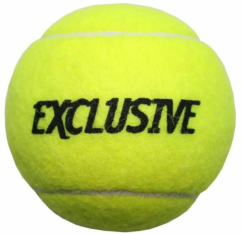 Tenisový míček - Exclusive tréninkové tenisové míče balení: 1 ks
