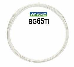 Badmintonový výplet BG 65 Ti, Yonex - průměr 0,70 mm