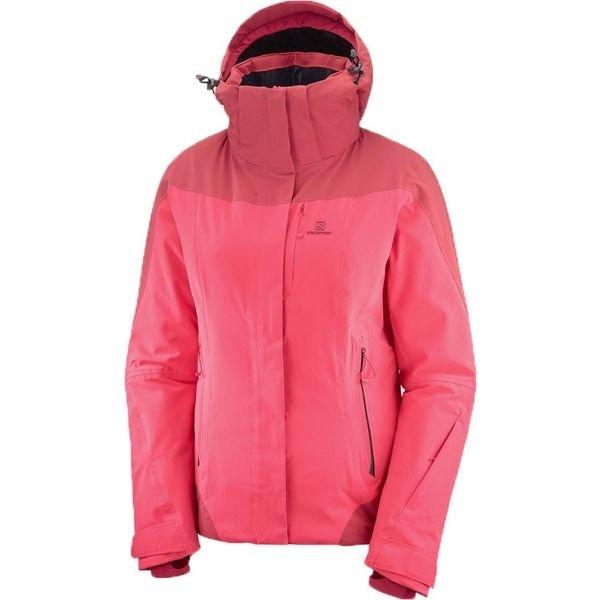 Růžová dámská lyžařská bunda Salomon