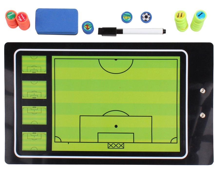 Fotbalová trenérská tabule Merco - délka 35 cm a šířka 20 cm
